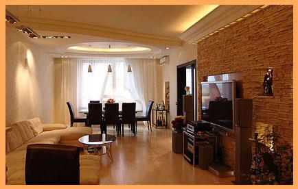 Внутренняя отделка домов из бруса в Москве - цены на