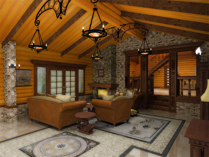 Подскажите цены на деревянный коттедж