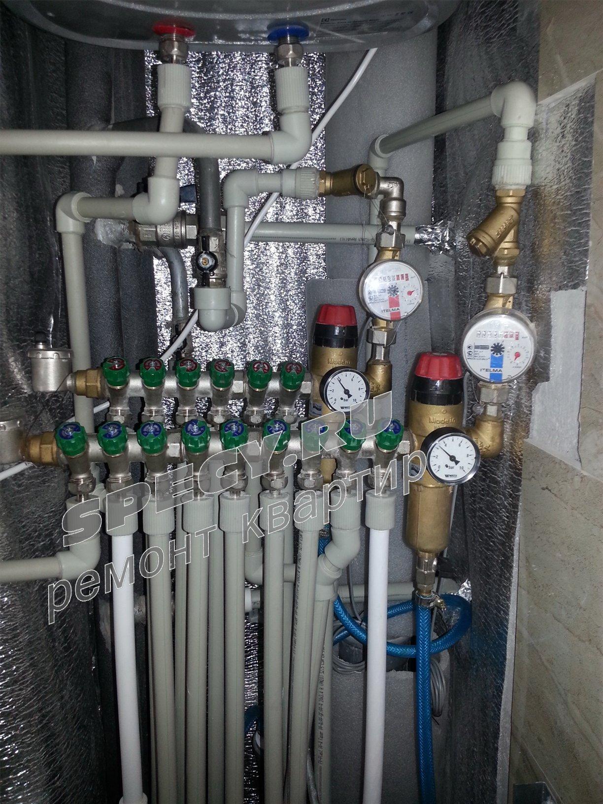 Разводка воды в квартире полипропилен своими руками 65